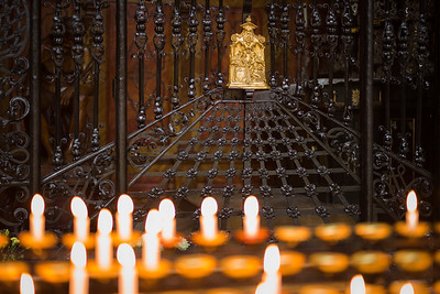 Kerzen im Konstanzer Münster
