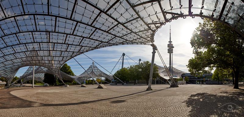 Olympia-Stadion, München, Oberbayern, Bayern, Deutschland