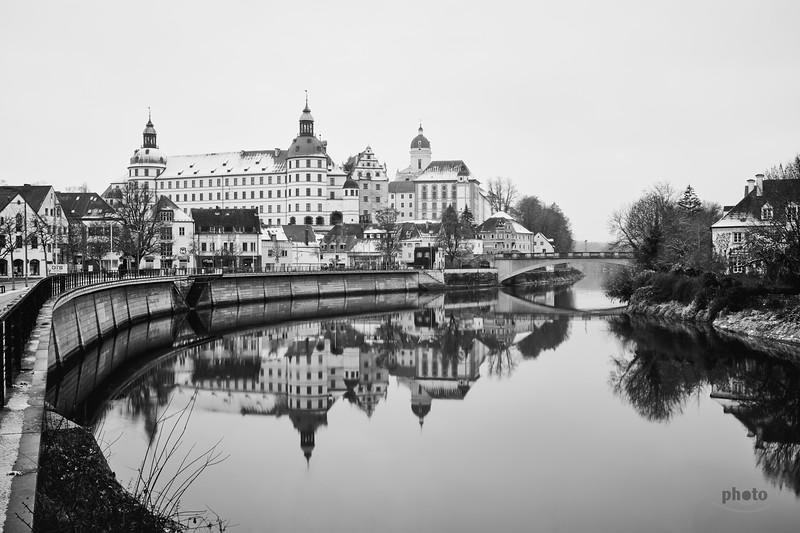 Schloss Neuburg an der Donau, Oberbayern, Bayern, Deutschland