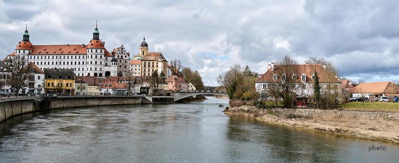 Schloss von Neuburg an der Donau, Oberbayern, Bayern, Deutschland