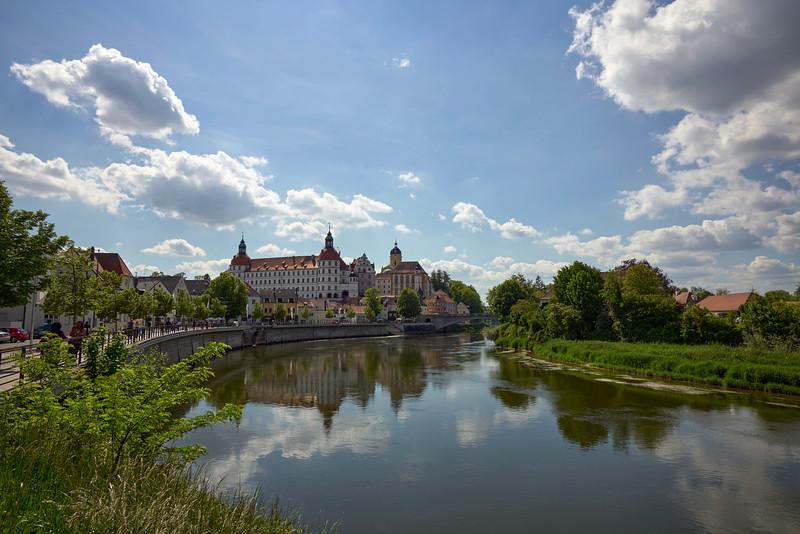 Schloss, Neuburg an der Donau, Oberbayern, Bayern, Deutschland