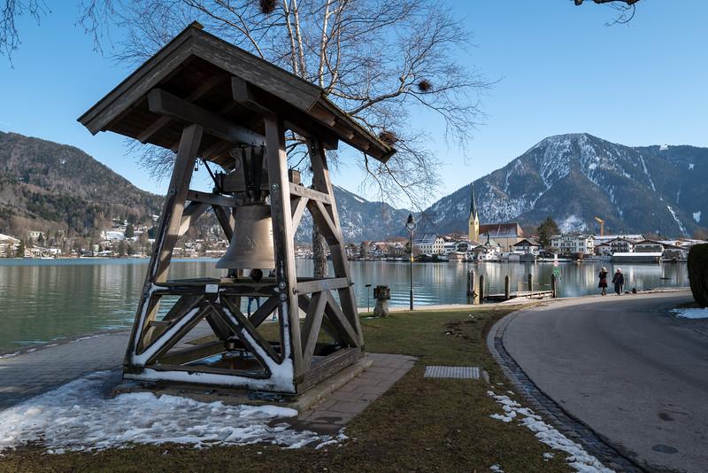 Von Bad Wiessee nach Rottach-Egern, Tegernsee, Oberbayern, Bayern, Deutschland