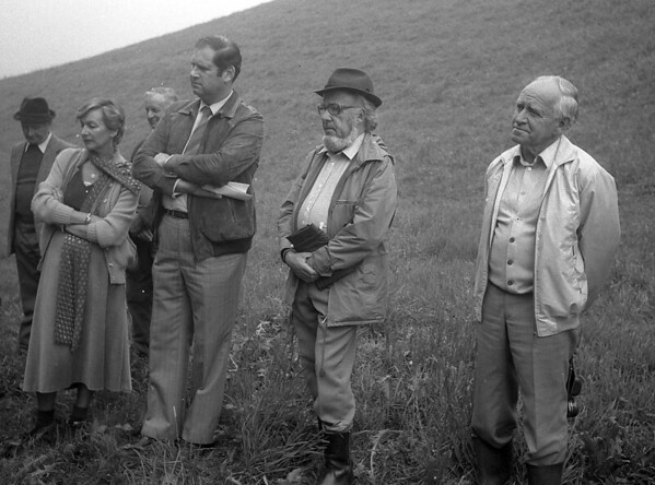 Bei der Burgstelle Salbüel, 1982, Hergiswil b.W.
