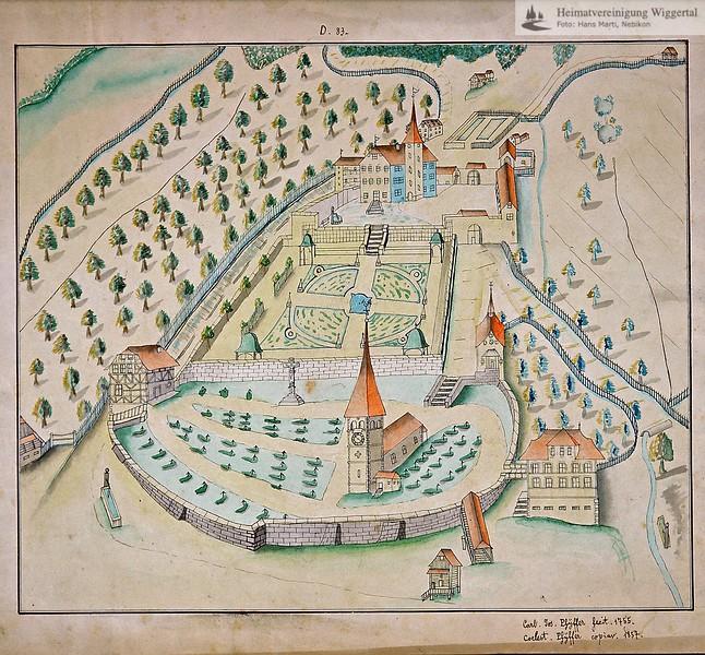Schloss Altishofen Plan