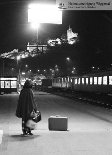 Bahnhof Baden 1978