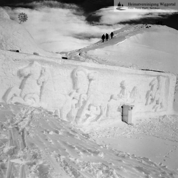 Davos Schneeskulpturen