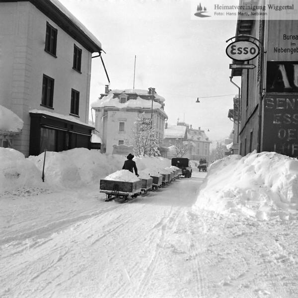 Davos Schneeräumung