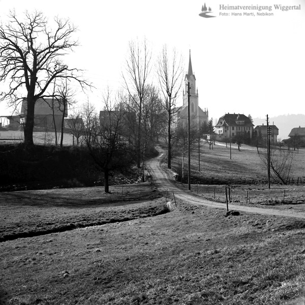 Kirche Grosswangen 1971
