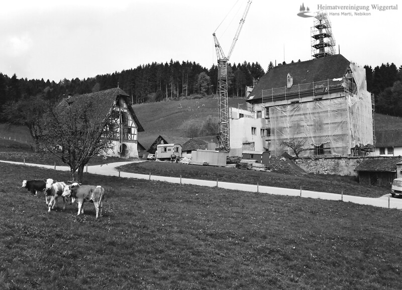 Schloss Altishofen Renovierung