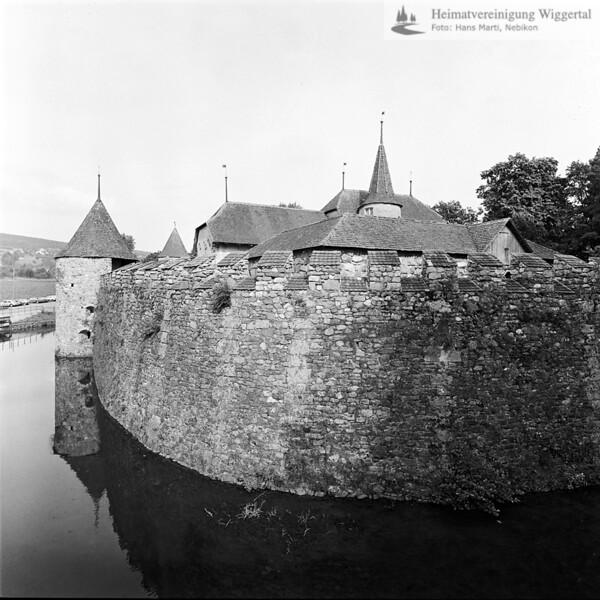 Burgenfaht Schloss Hallwil/ Muri 1977