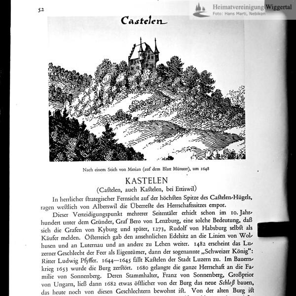 Fotografie aus Buch Kasteln
