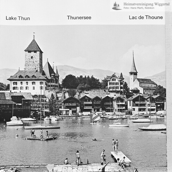 Reproduktion Thunersee