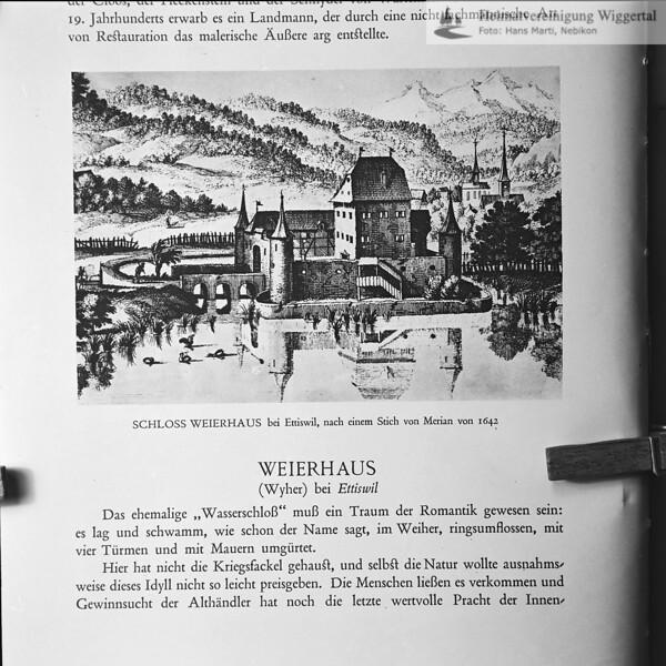 Reproduktion Weierhaus aus Buch