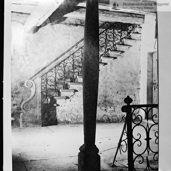 Fotografie aus Buch Treppe