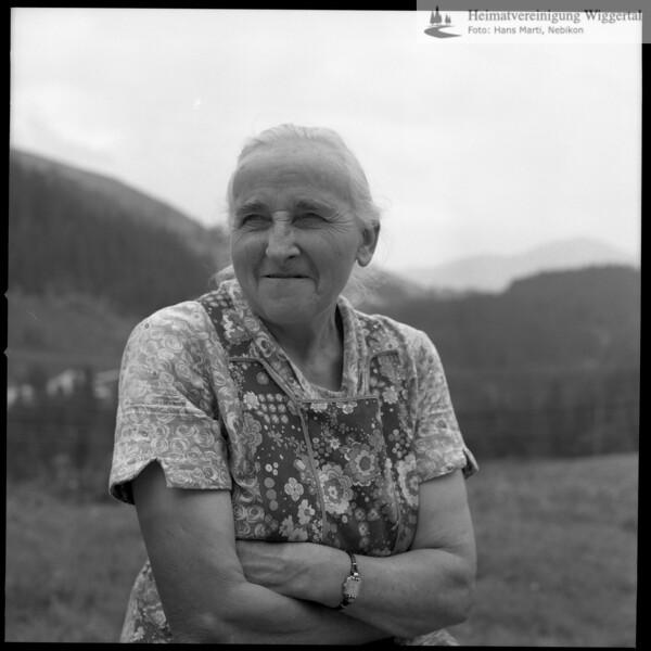 #030053 | Katharina Emmenegger-Vogel ??? Hirsegg/Rischli, 6174 Sörenberg; * 1901; + 2000; vtb