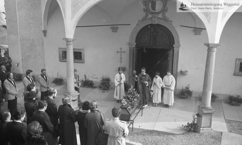 Beerdigung Altishofen 1984