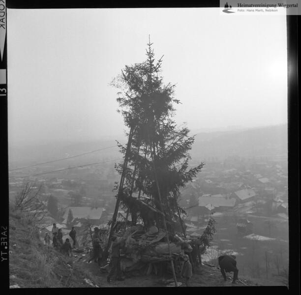 Fasnachtsfeuer Nebikon 1967