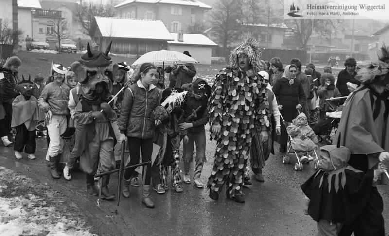 Fasnacht Altishofen 1987