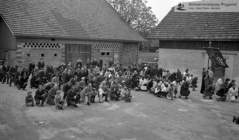 Fronleichnam Schötz 1974