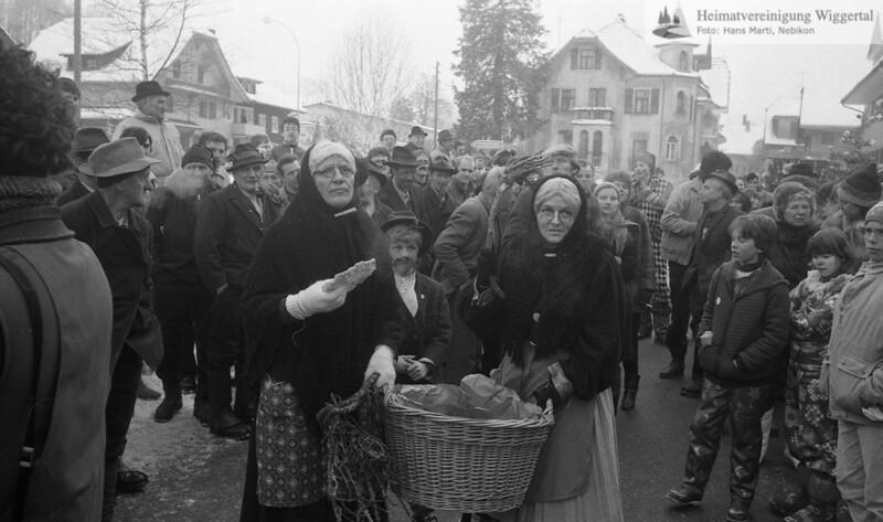 Fasnacht Hergiswil Tannenschleipfete 1986