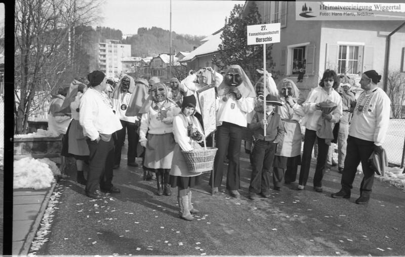 Fasnachtsfeuer Nebikon 1978