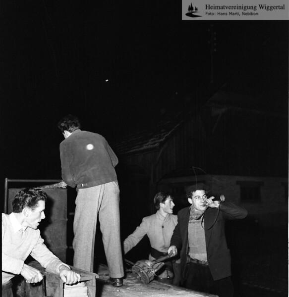 #030415 | Giritzjagen Wikon um 1960; ww