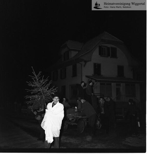 #030427 | Giritzjagen um 1960; ww