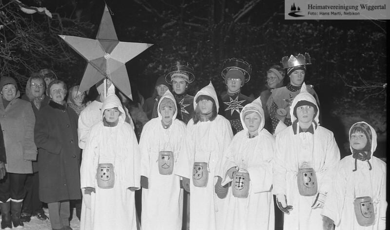 Sternsingen 1983/84