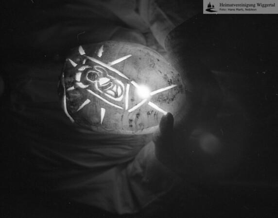 #030793 | Sternsingen 1963; Räbenlicht; MHN; fja; grn