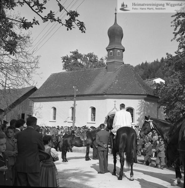 #031293 | St.Wendelinskapelle; Auffahrtsumritt; WSW