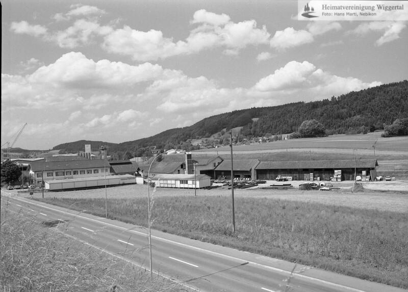 #040119 | links Fabrikgebäude Brun AG, Kantonsstrasse; 1987; MHN; thm