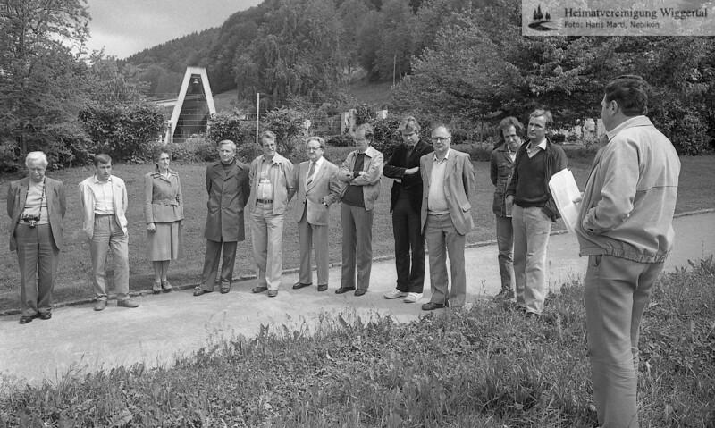 Friedhofeinweihung ,Spatenstich Juni 1984