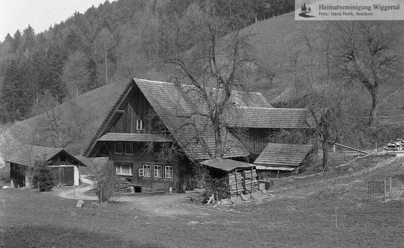 #041010 | das hinterste Haus im Graben; Literatur; Hans Marti, Nebikon, Seite 41; fja