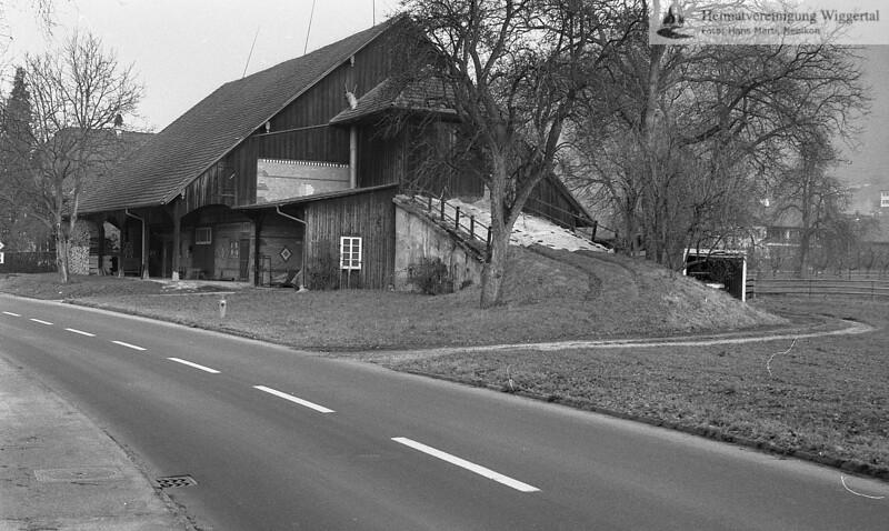 Scheune 1989 Joller Martin