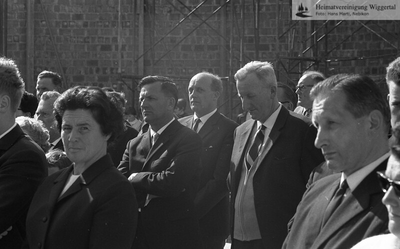 Grundsteinlegung Kirche Frühjahr 1967
