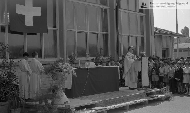 Spatenstich Kath.Kirche Fotos Paul Pfenniger