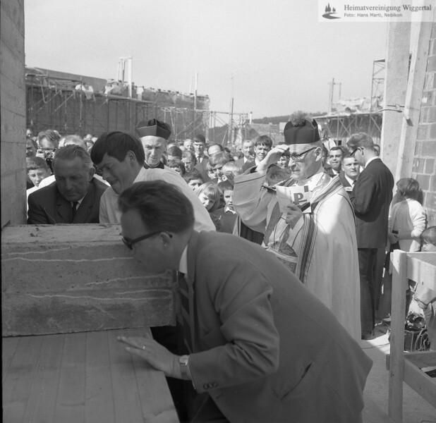 Grunsteinlegung 1967
