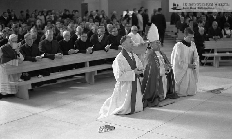 Kirchenwinweihung 5.10.1968