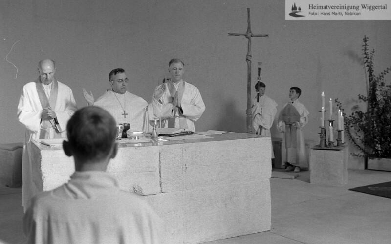Kirche Einweihung 5 Okt. 1968