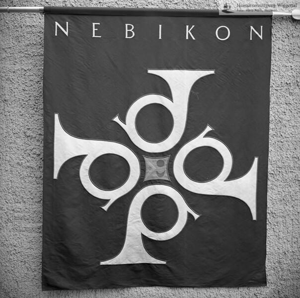 #041474 | Feldmusik Nebikon; Fahne; fja