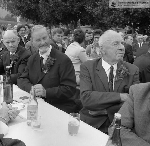 #041503 | wo? was?; wer?; Die erste Person von links ist Anton Häfliger 1939-2006 Wolhusen; fja; Bodo