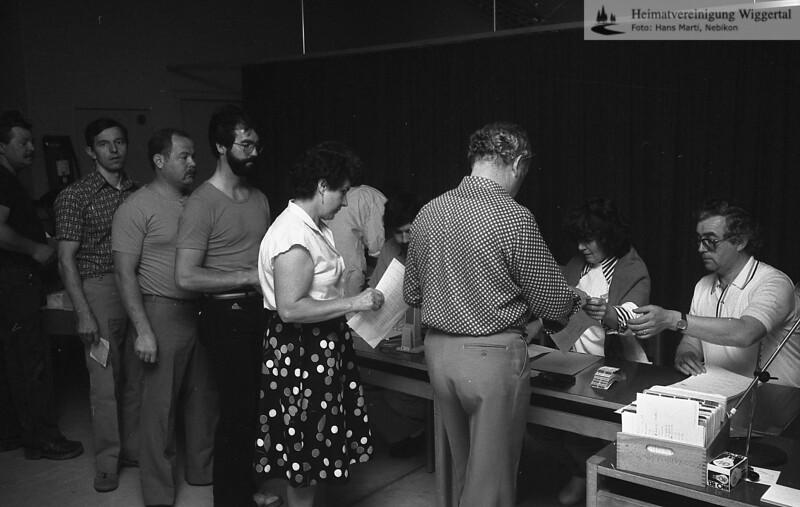 Samariter Blutspende 1983