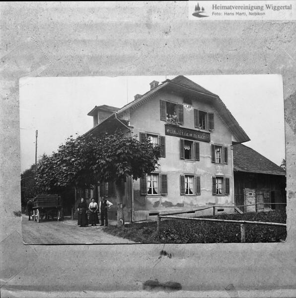 #041566 | Wein- und Speisewirthschaft; wo?; Reprofoto; fja