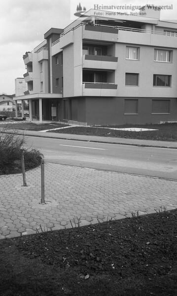 Schulhaus Neuer Kindergarten 1986