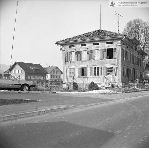 #041665 | Nebikon: ehemaliges Schulhaus an der Vorstadt; frwü