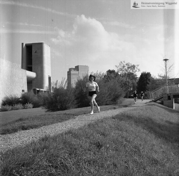 #041721 | Freizeit; Sport; Wiggerweg, links Pfarrkirche; fja; shr
