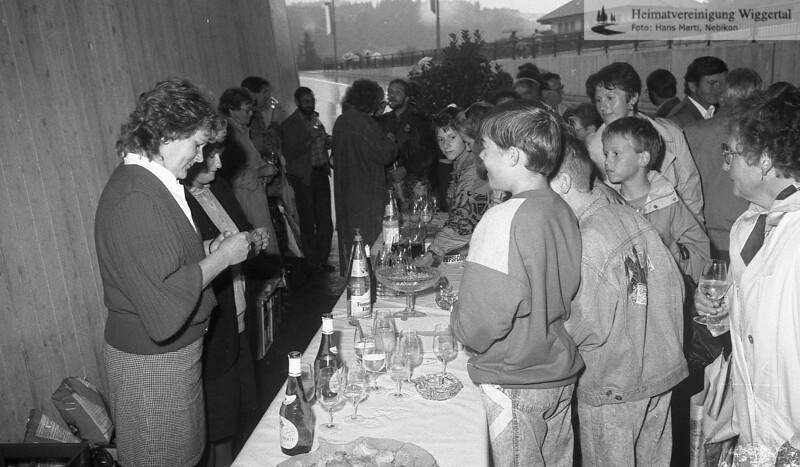 Unterführung Einweihung 1991