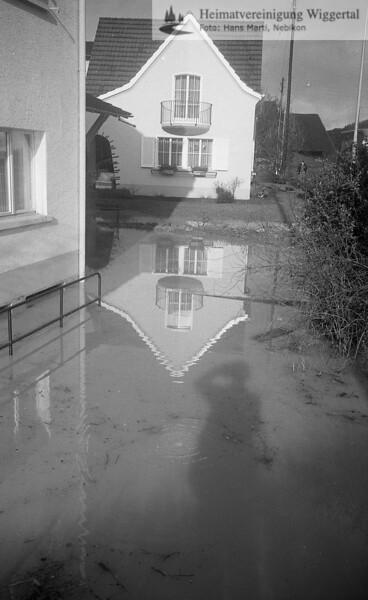Überschwemmung Nebikon 22/23 Nov. 1972