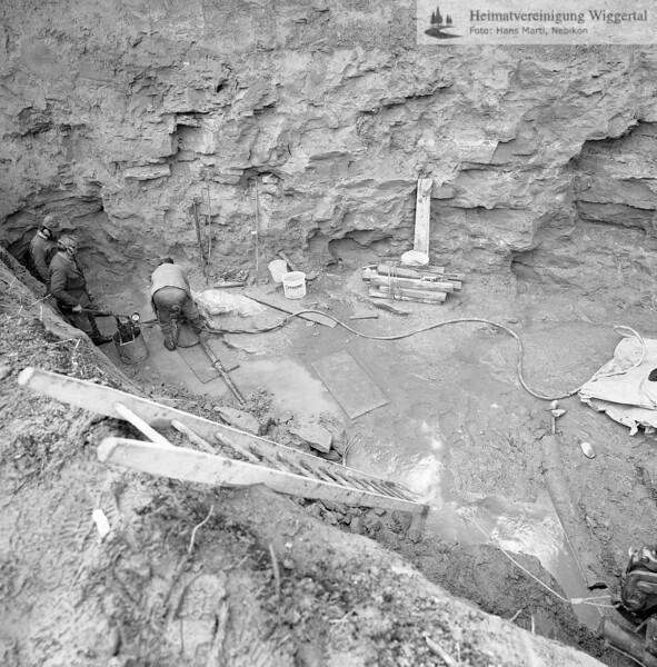 Wasserfassung Graben 1988