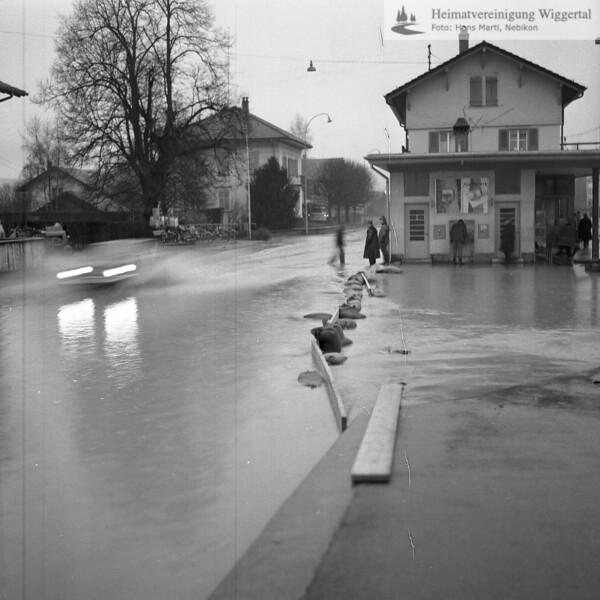 Überschwemmung 22/23 Nov. 1972